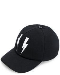 Neil Barrett Lightning Bolt Baseball Cap