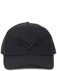 Neil Barrett Lightning Bolt Embroidered Cap