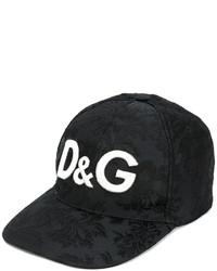 50fb3ec5353c5 Dolce   Gabbana Logo Jacquard Baseball Cap