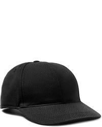 Dolce & Gabbana Micro Dot Cotton And Silk Blend Jacquard Baseball Cap