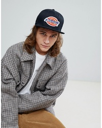 Dickies Muldoon Snapback Cap With Logo In Black