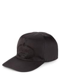 Prada Nylon Calf Leather Baseball Cap