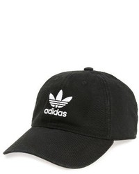 adidas Originals Relaxed Baseball Cap Black