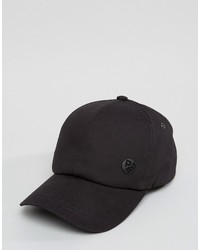Paul Smith Ps By Baseball Cap In Black