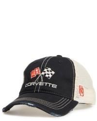 Original Retro Brand Retro Brand Corvette Flags Trucker Hat