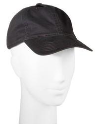 Solid Baseball Hat Black