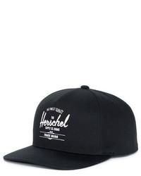 Herschel Supply Co Whaler Snapback Baseball Cap Grey