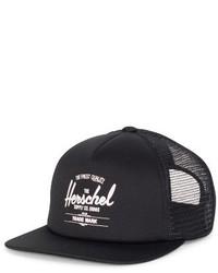 Herschel Supply Co Whaler Trucker Hat Black