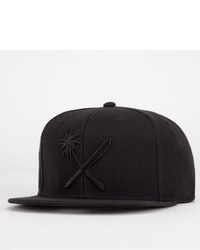 Us Versus Them Crosscut Snapback Hat Black One Size For 209380100