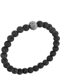 Batu classic chain volcanic bead bracelet medium 442071