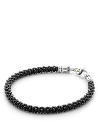 Black white caviar bracelet medium 1127745