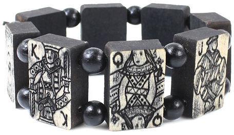 Goodwood The Royalty Distressed Bracelet In Black
