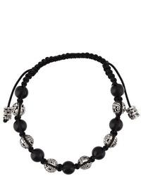 John Brevard Ortho Sapphire And Onyx Bead Bracelet