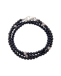 Nialaya Mykonos Onyx Bead Bracelet