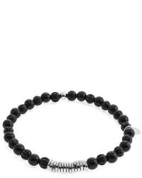 Tateossian Onyx Beaded Bracelet