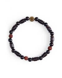 Caputo & Co Reflection Bead Bracelet