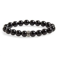 Room101 polished agate bead bracelet medium 3664555