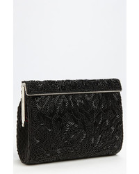 Meadow beaded frame clutch black medium 3752799