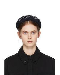 MM6 MAISON MARGIELA Black Beaded Headband