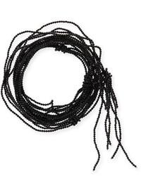 Brunello Cucinelli Agate Multi Strand Beaded Choker Necklace