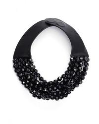 Fairchild Baldwin Multirow Beaded Collar Necklace