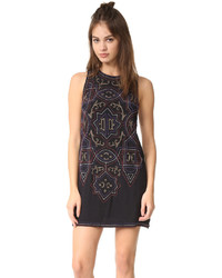 Free People Mandala Shift Mini Dress