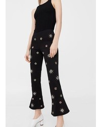 Beads flare trousers medium 3725539