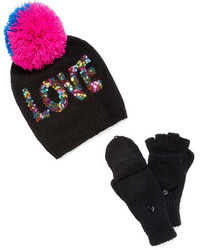 JCPenney Abg Beanie And Gloves Girls 7 16