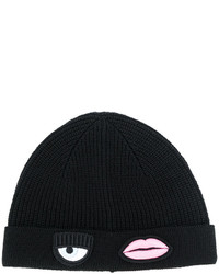 Chiara Ferragni Appliqu Patch Beanie