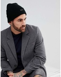 Ben Sherman Beanie Hat In Black