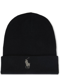Polo Ralph Lauren Big Pony Knitted Cotton Beanie