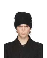 Frenckenberger Black Cashmere Beanie
