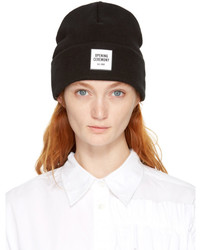 Opening Ceremony Black New Era Edition Logo Beanie