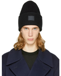 Acne Studios Men s Black Beanies from SSENSE  83a5ca47b23