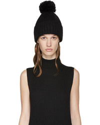 MM6 MAISON MARGIELA Black Structural Beanie