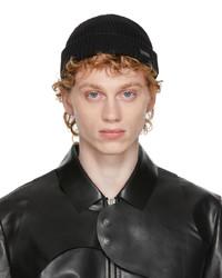 Heliot Emil Black Wool Beanie