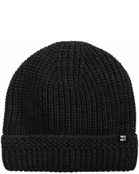 Block Hats Sherpa Lined Ribbed Hat