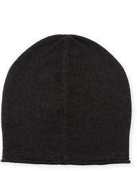 Vince Cashmere Blend Solid Beanie Hat