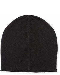 Vince Cashmere Blend Solid Beanie Hat