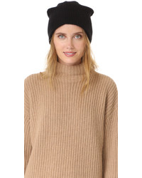 Cashmere plush rib beanie medium 840456