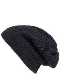 Caslon Coordin Knit Beanie Blue