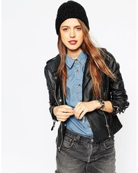 Asos Collection Neppy Rib Beanie