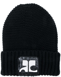Courrges logo patch beanie medium 4469875