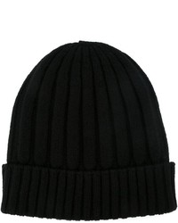 Dolce & Gabbana Ribbed Knit Beanie Hat