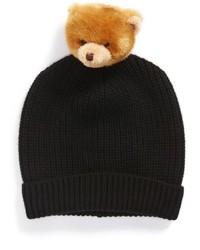 Dolce & Gabbana Dolcegabbana Dolcegabanna Teddy Bear Pompom Cashmere Beanie