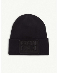 Dsquared2 Acc Be Cool Be Nice Knitted Wool Beanie