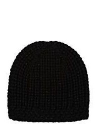 John Varvatos English Rib Knit Beanie Black