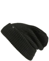 Echo Fisherman Beanie Black