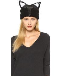 Markus Lupfer Fox Face Beanie Hat