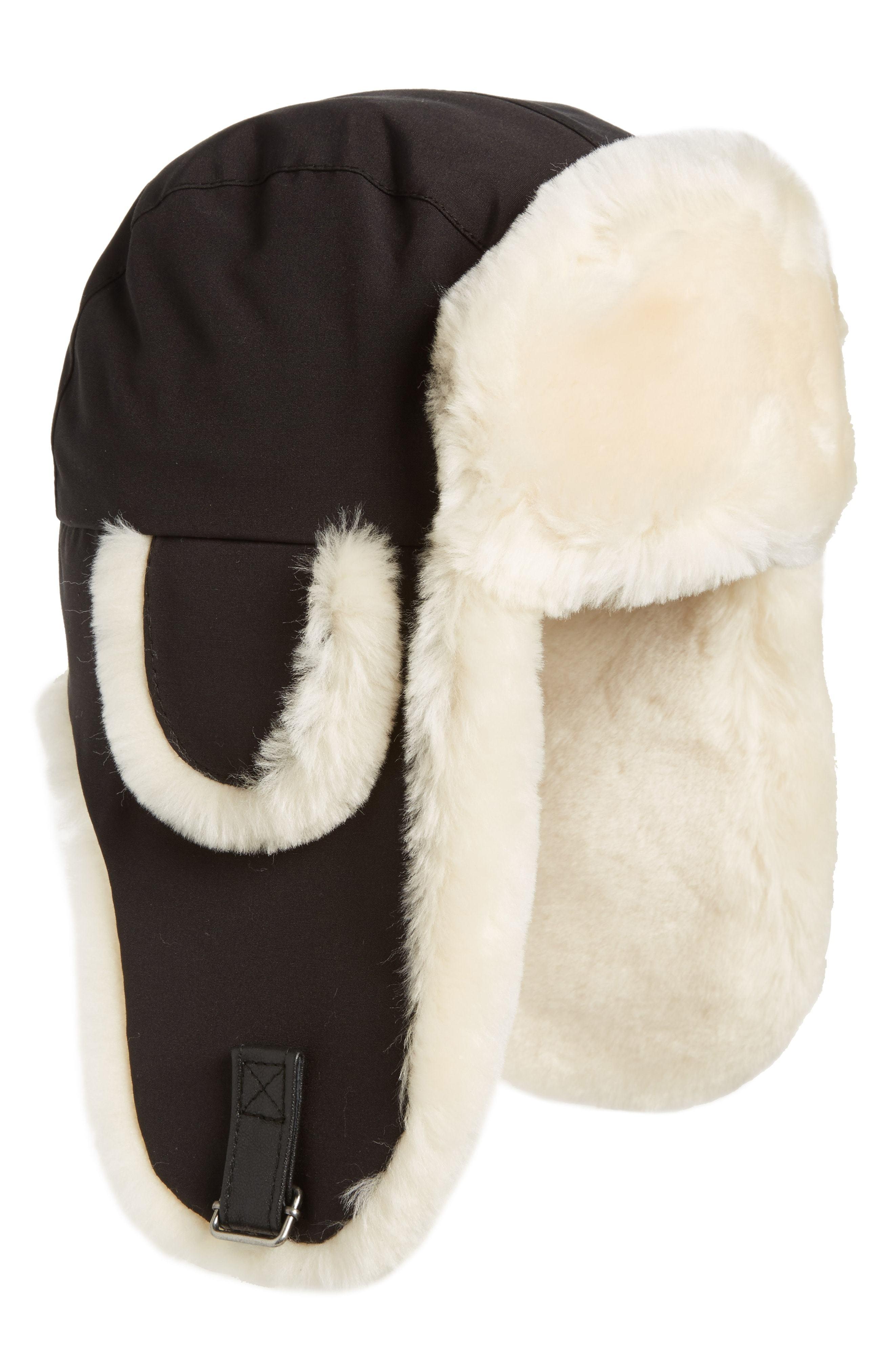 Canada Goose Genuine Shearling Copilot Hat